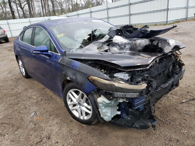 Salvage 2013 FORD FUSION - Small image. Lot 33197651