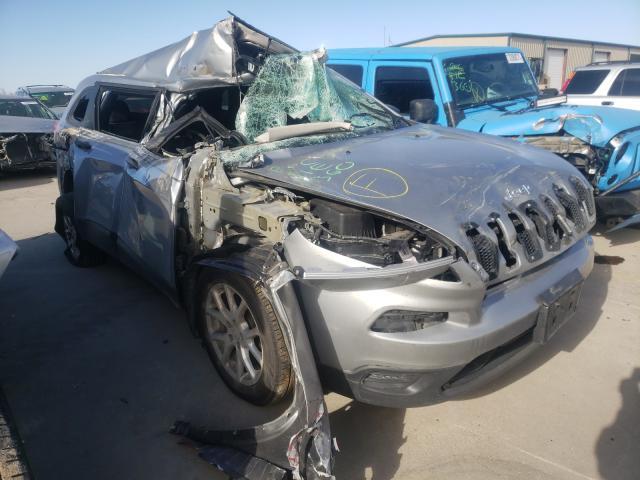 Vehiculos salvage en venta de Copart Wilmer, TX: 2016 Jeep Cherokee S