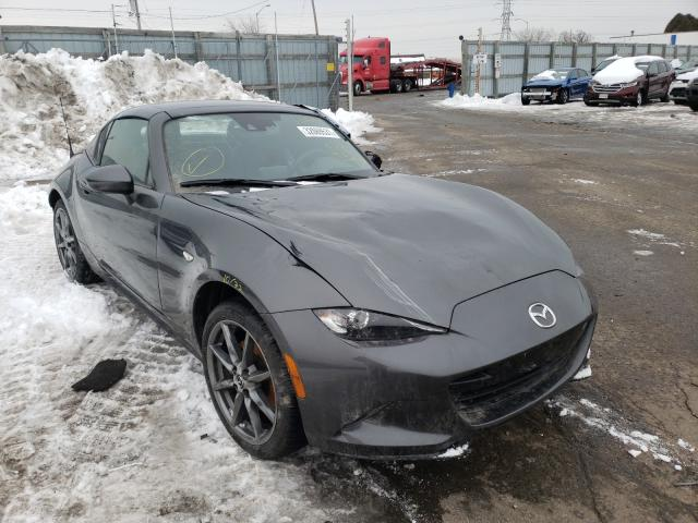 Salvage cars for sale from Copart Cudahy, WI: 2017 Mazda MX-5 Miata