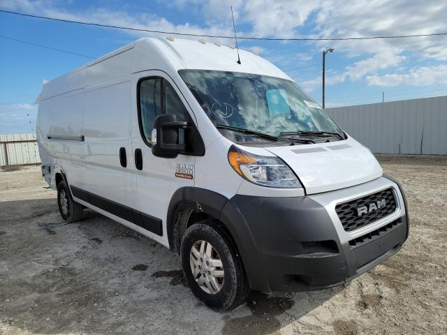 Salvage cars for sale from Copart Temple, TX: 2019 Dodge RAM Promaster