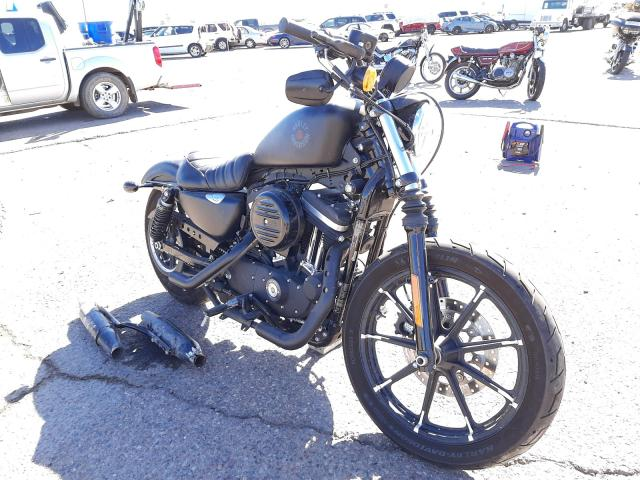 Salvage cars for sale from Copart Phoenix, AZ: 2020 Harley-Davidson XL883 N