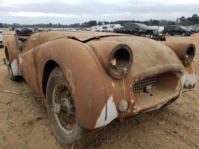 1954 TRIUMPH CAR TR3