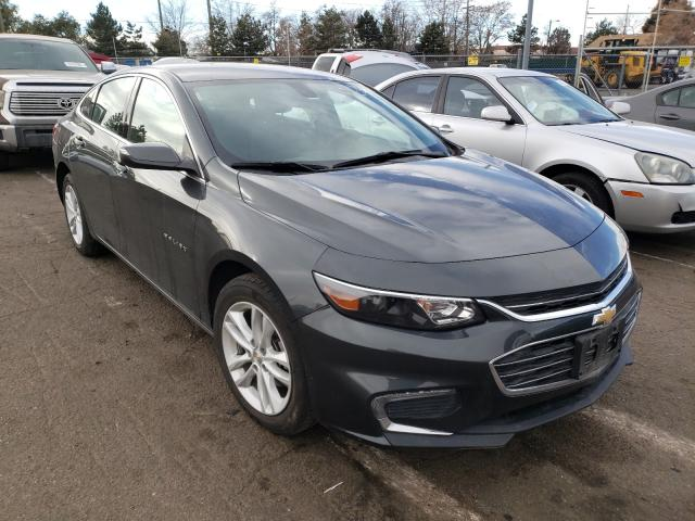 Salvage cars for sale from Copart Denver, CO: 2018 Chevrolet Malibu LT