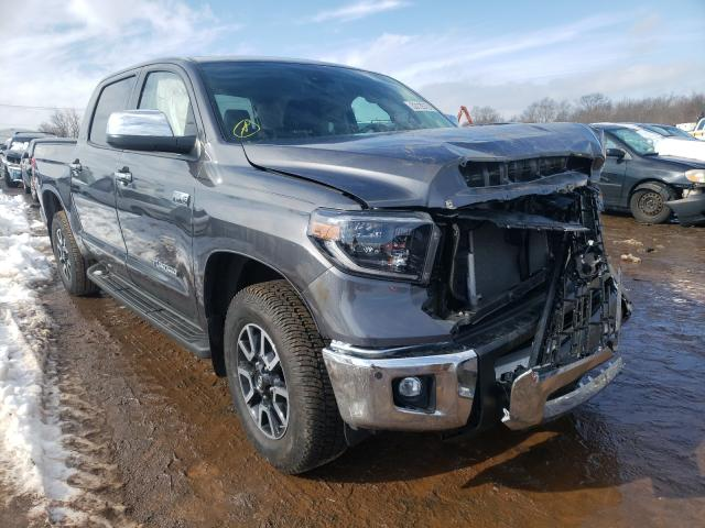 Salvage cars for sale from Copart Hillsborough, NJ: 2020 Toyota Tundra CRE