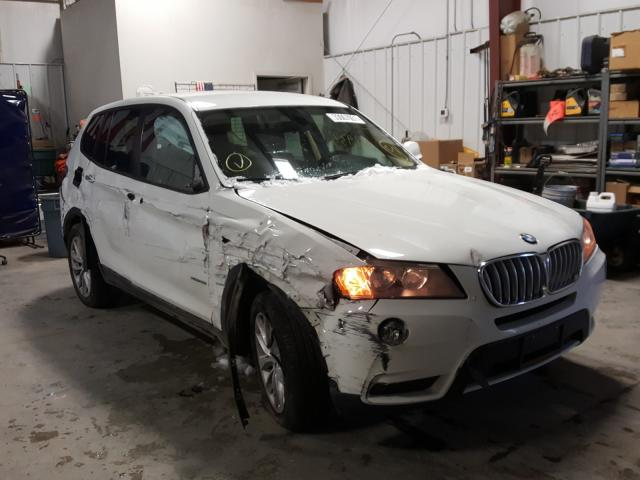 Salvage cars for sale from Copart Billings, MT: 2013 BMW X3 XDRIVE2
