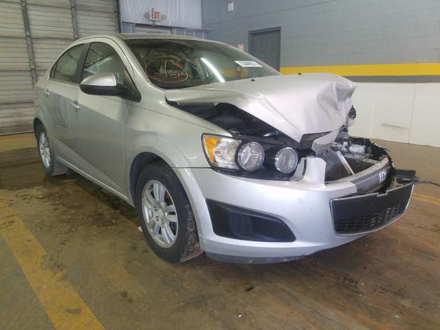Vehiculos salvage en venta de Copart Mocksville, NC: 2015 Chevrolet Sonic LT