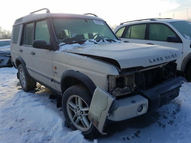 Land Rover Discovery salvage cars for sale: 2003 Land Rover Discovery