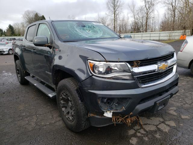 Salvage cars for sale from Copart Portland, OR: 2017 Chevrolet Colorado L