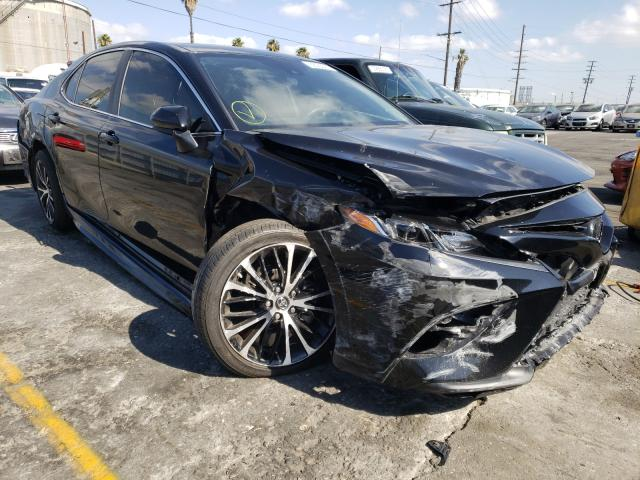 Salvage cars for sale from Copart Wilmington, CA: 2019 Toyota Camry L
