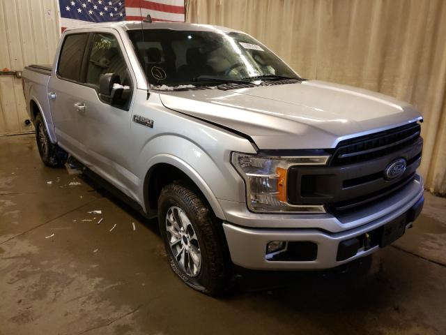 Salvage cars for sale from Copart Avon, MN: 2019 Ford F150 Super