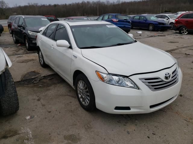 Salvage cars for sale from Copart Lawrenceburg, KY: 2007 Toyota Camry Hybrid