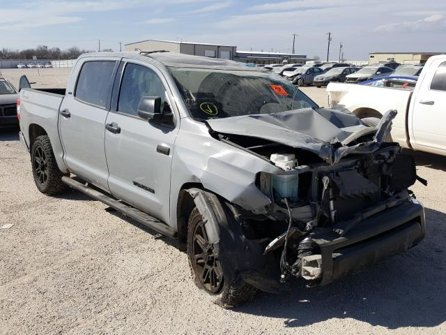 Salvage cars for sale from Copart San Antonio, TX: 2020 Toyota Tundra CRE