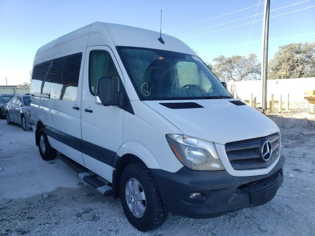 Salvage cars for sale from Copart Homestead, FL: 2017 Mercedes-Benz Sprinter 2