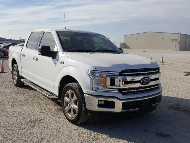 Salvage cars for sale from Copart San Antonio, TX: 2018 Ford F150 Super