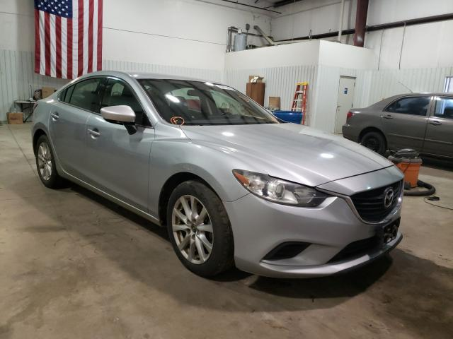 Salvage cars for sale from Copart Lufkin, TX: 2016 Mazda 6 Sport