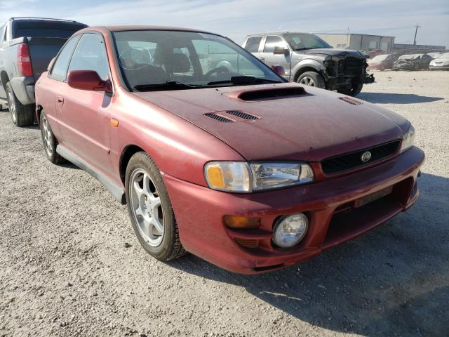 Salvage cars for sale from Copart San Antonio, TX: 2000 Subaru Impreza RS