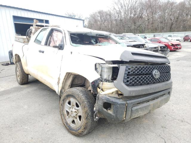 Salvage cars for sale from Copart Shreveport, LA: 2018 Toyota Tundra DOU