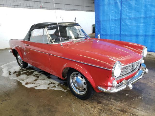 Fiat salvage cars for sale: 1965 Fiat Spider