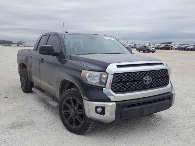 Salvage cars for sale from Copart San Antonio, TX: 2018 Toyota Tundra DOU