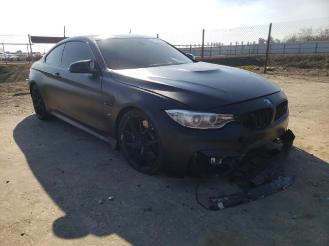 Salvage cars for sale from Copart Fresno, CA: 2016 BMW M4
