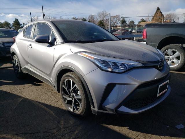 Salvage cars for sale from Copart Denver, CO: 2020 Toyota C-HR XLE