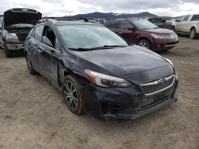 Salvage cars for sale from Copart Helena, MT: 2017 Subaru Impreza LI