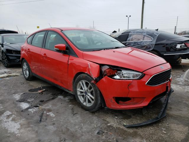Salvage cars for sale from Copart Indianapolis, IN: 2016 Ford Focus SE