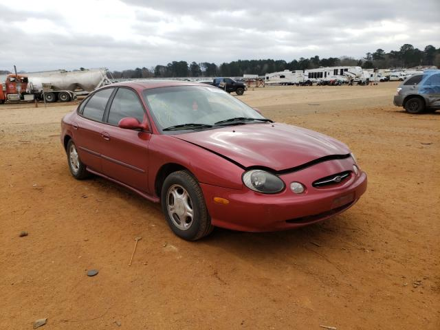 Salvage cars for sale from Copart Longview, TX: 1998 Ford Taurus LX
