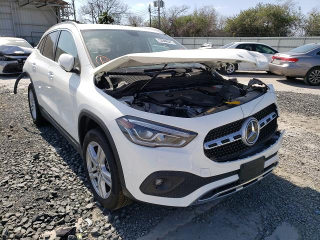 Salvage cars for sale from Copart Corpus Christi, TX: 2021 Mercedes-Benz GLA 250
