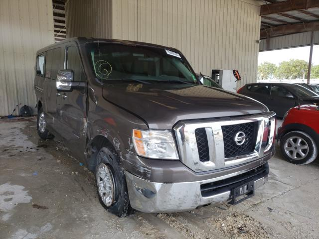 Salvage cars for sale from Copart Homestead, FL: 2013 Nissan NV 3500 S