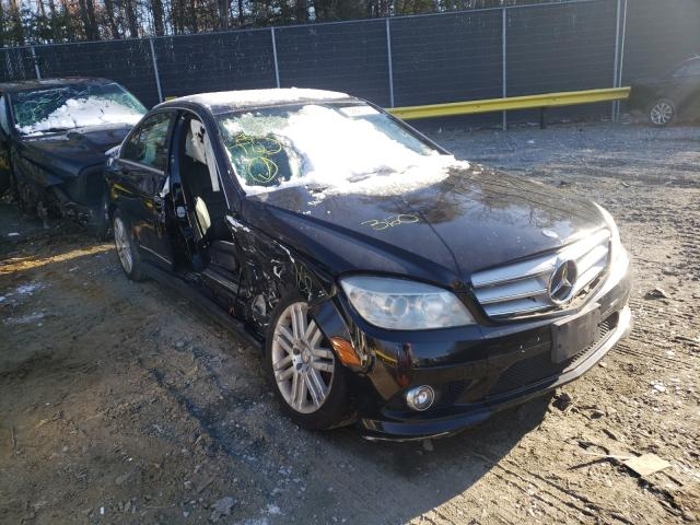Vehiculos salvage en venta de Copart Waldorf, MD: 2008 Mercedes-Benz C 300 4matic