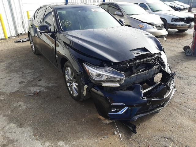 Infiniti salvage cars for sale: 2019 Infiniti Q50 Luxe