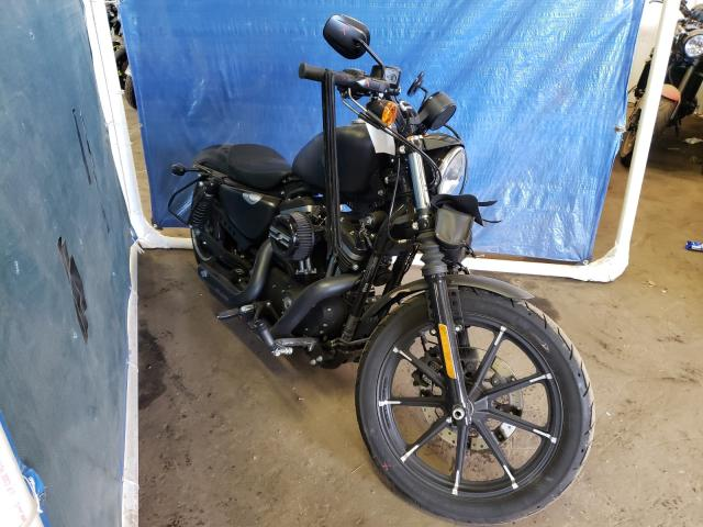 Salvage cars for sale from Copart Hillsborough, NJ: 2020 Harley-Davidson XL883 N