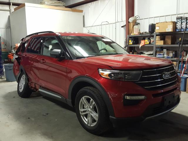 Salvage cars for sale from Copart Billings, MT: 2020 Ford Explorer X