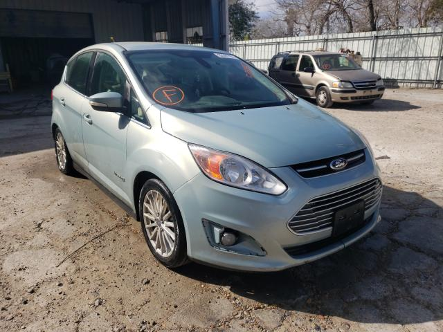 Salvage cars for sale from Copart Corpus Christi, TX: 2013 Ford C-MAX SEL
