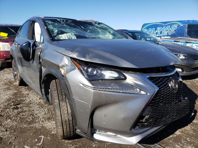 Salvage cars for sale from Copart San Martin, CA: 2015 Lexus NX 200T