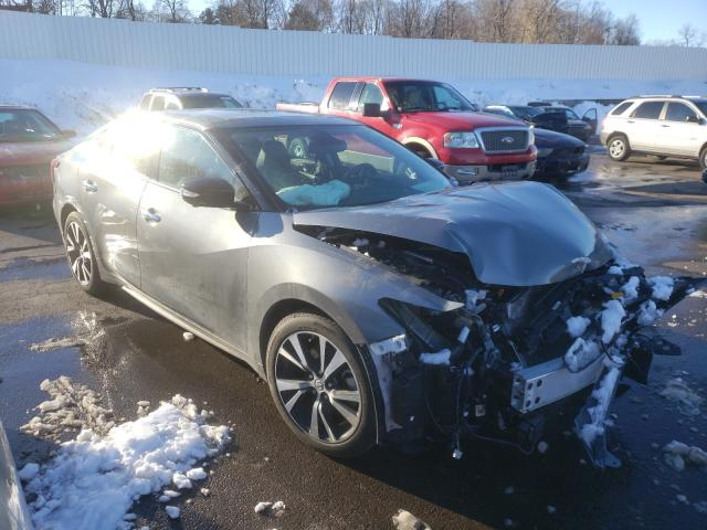 Nissan salvage cars for sale: 2017 Nissan Maxima 3.5
