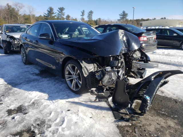 BMW salvage cars for sale: 2017 BMW 430I Gran Coupe