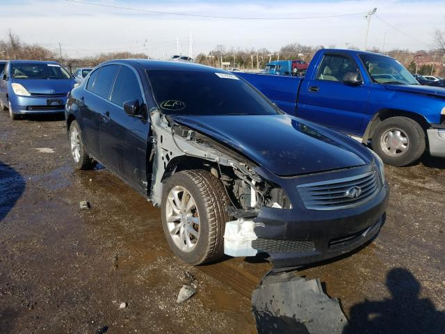 Infiniti G37 salvage cars for sale: 2009 Infiniti G37