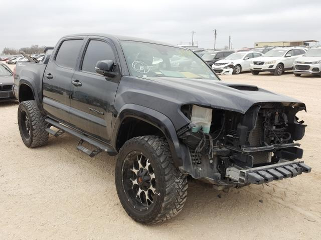 Salvage cars for sale from Copart San Antonio, TX: 2019 Toyota Tacoma DOU