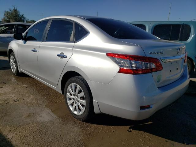 2015 NISSAN SENTRA S - Right Front View