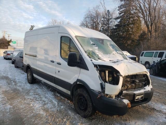 Salvage cars for sale from Copart Northfield, OH: 2018 Ford Transit T
