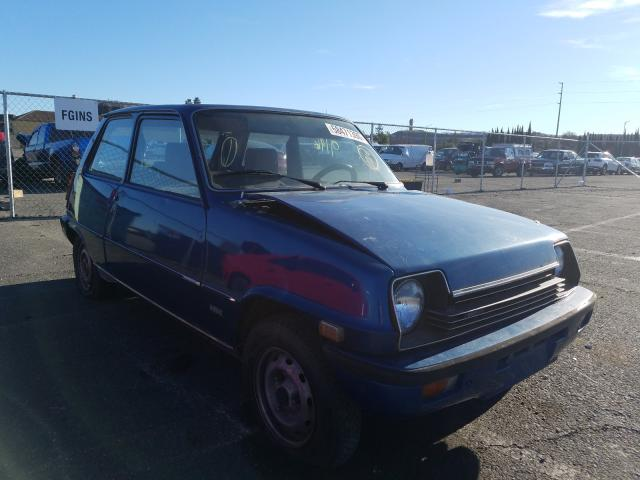 Renault salvage cars for sale: 1976 Renault LE Car