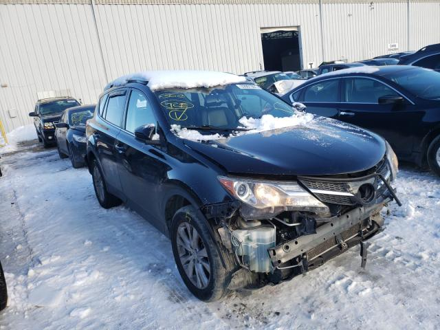 Salvage cars for sale from Copart Windsor, NJ: 2014 Toyota Rav4 Limited