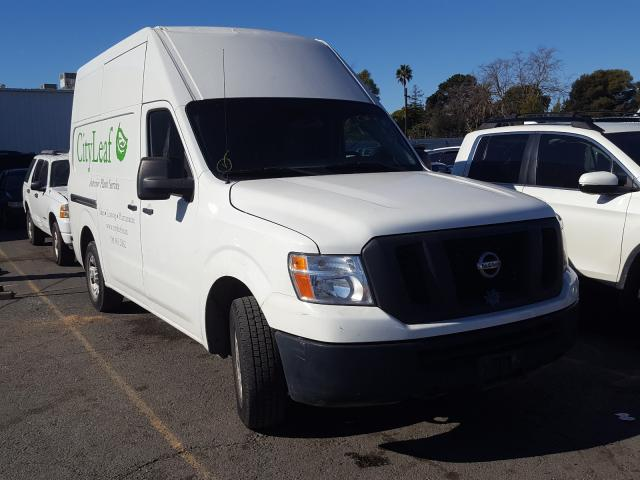 Salvage cars for sale from Copart Vallejo, CA: 2014 Nissan NV 2500