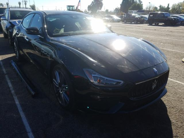 Maserati Ghibli Sport salvage cars for sale: 2018 Maserati Ghibli Sport
