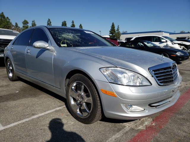 Salvage cars for sale from Copart Rancho Cucamonga, CA: 2007 Mercedes-Benz S 550