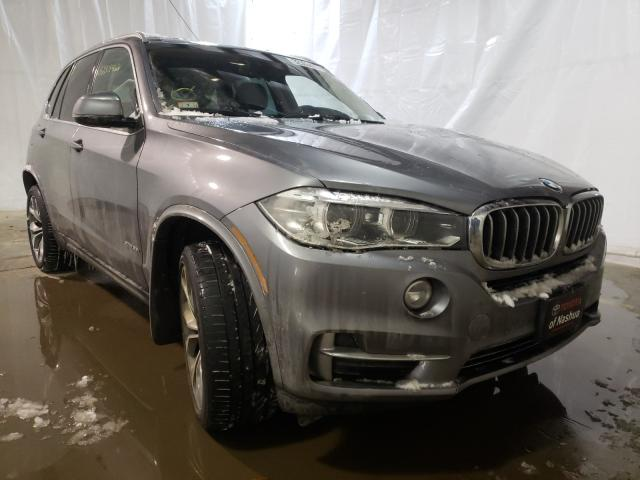 Salvage cars for sale from Copart Central Square, NY: 2016 BMW X5 XDRIVE3