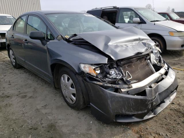 Salvage cars for sale from Copart Spartanburg, SC: 2010 Honda Civic VP