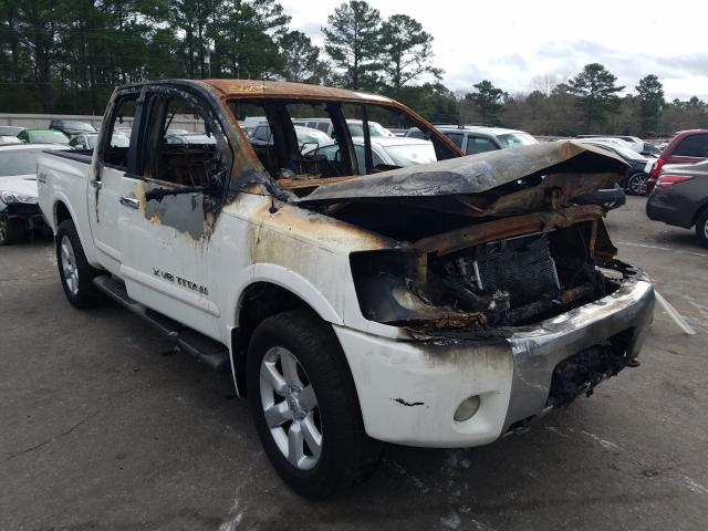 Salvage cars for sale from Copart Eight Mile, AL: 2009 Nissan Titan XE